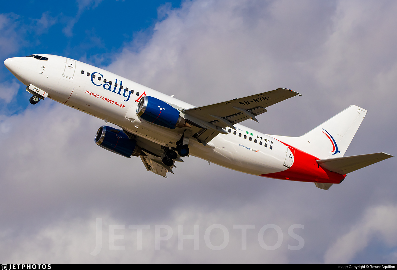 5N-BYR - Boeing 737-31S - Cally Air