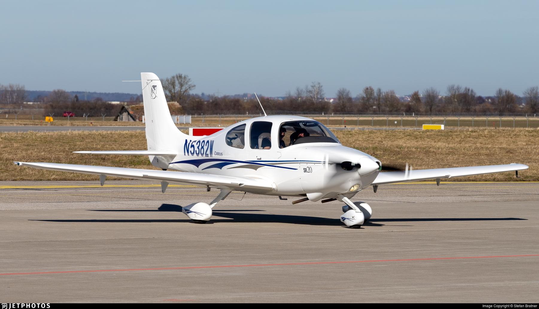 N5382W - Cirrus SR20 - Private