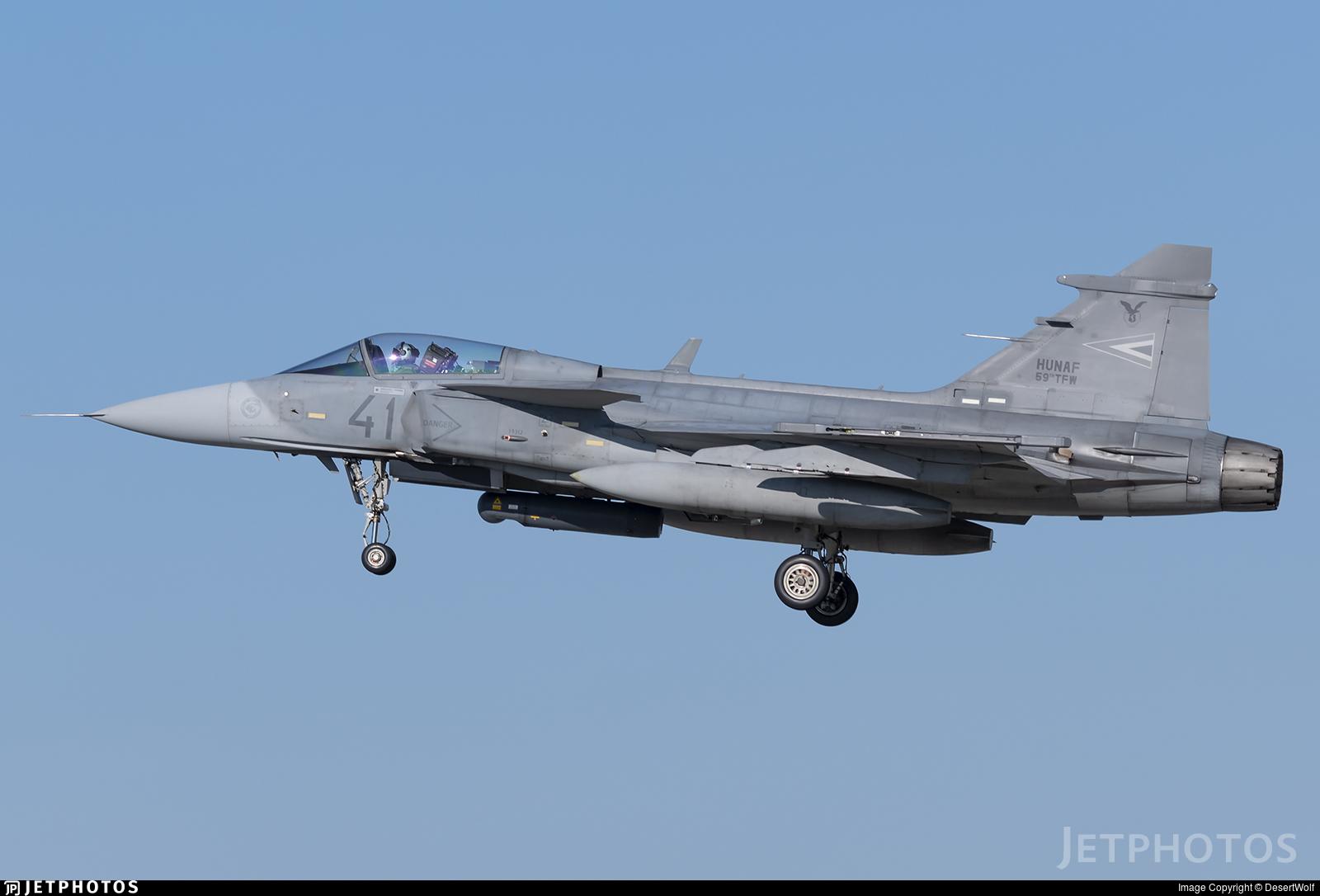 41 - Saab JAS-39C Gripen - Hungary - Air Force