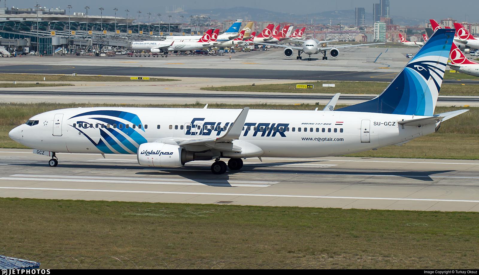 SU-GCZ - Boeing 737-866 - EgyptAir
