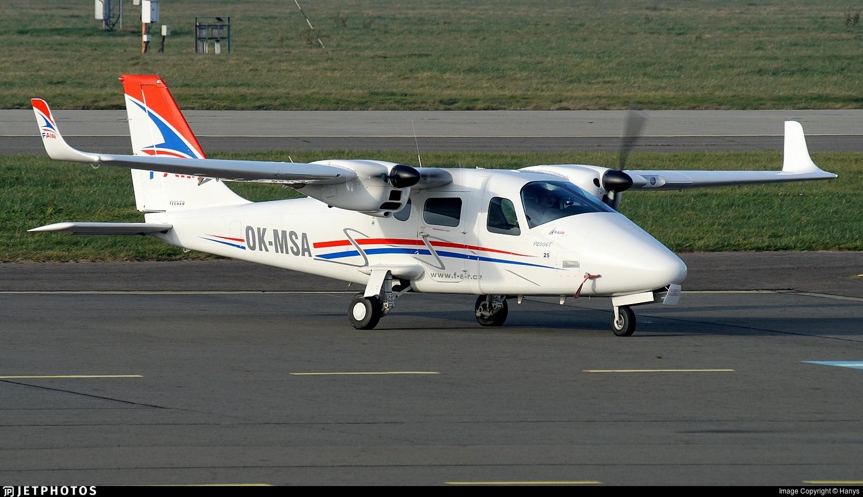 OK-MSA - Tecnam P2006T - F-Air Flight School