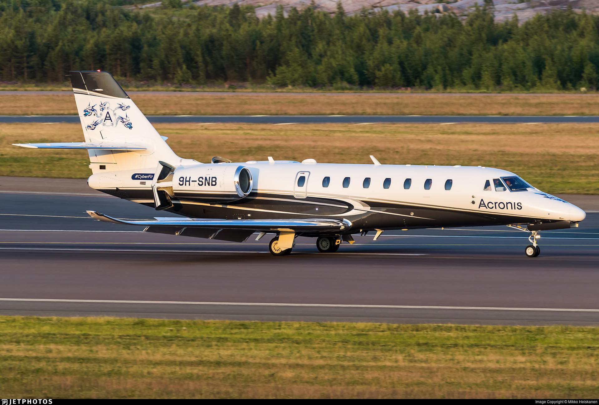 9H-SNB - Cessna 680 Citation Sovereign Plus - PontAir