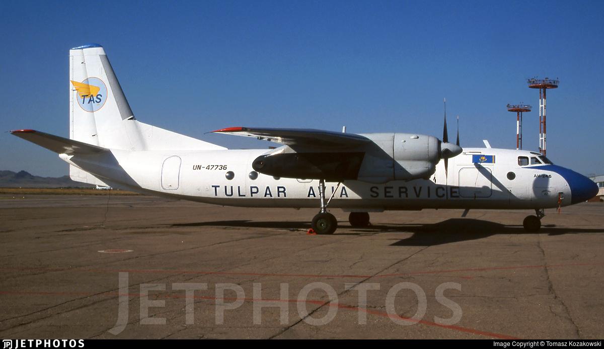 UN-47736 - Antonov An-24B - Tulpar Avia Service