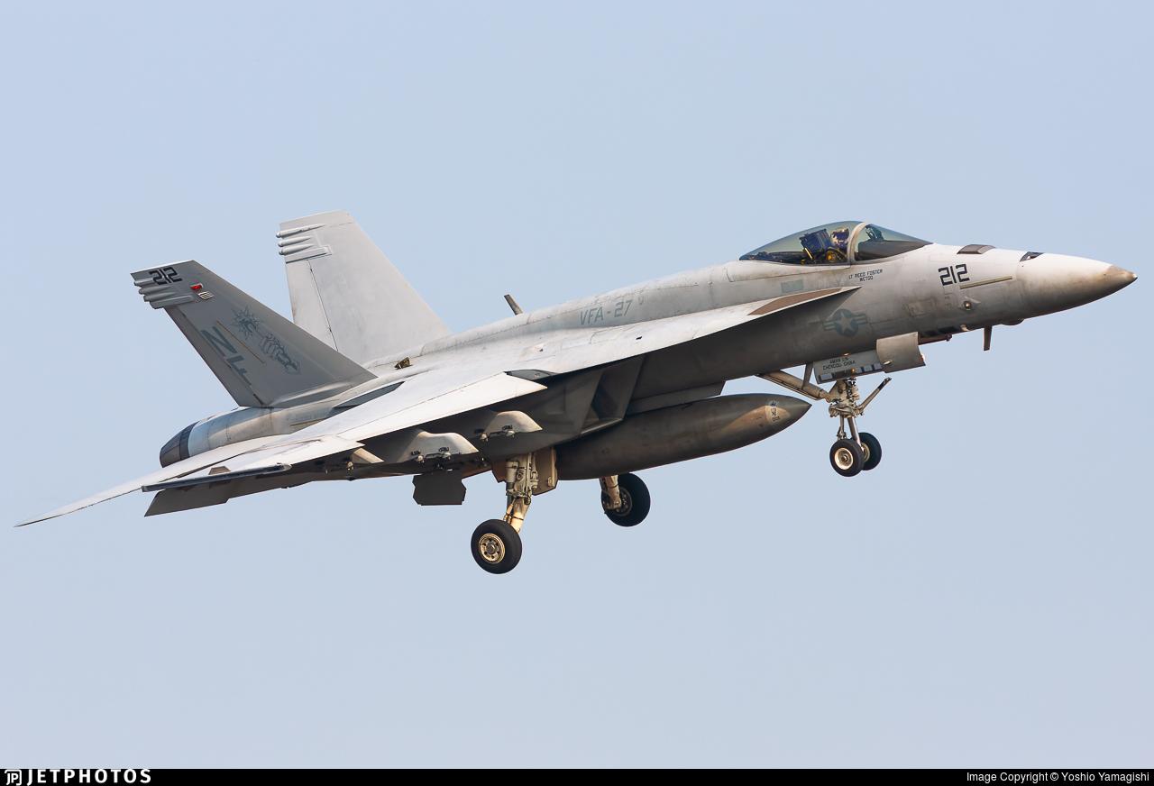165872 - Boeing F/A-18E Super Hornet - United States - US Navy (USN)