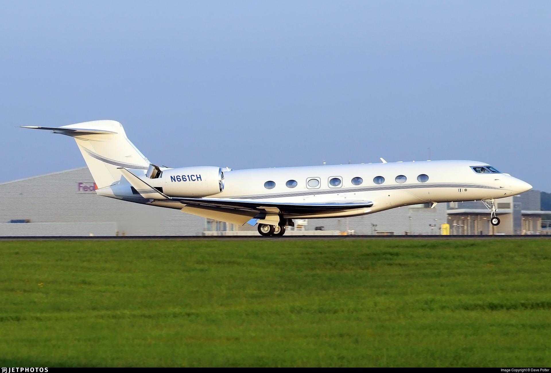N661CH - Gulfstream G650ER - Private