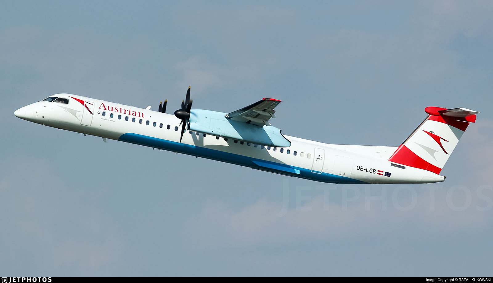 OE-LGB - Bombardier Dash 8-Q402 - Austrian Airlines (Tyrolean Airways)