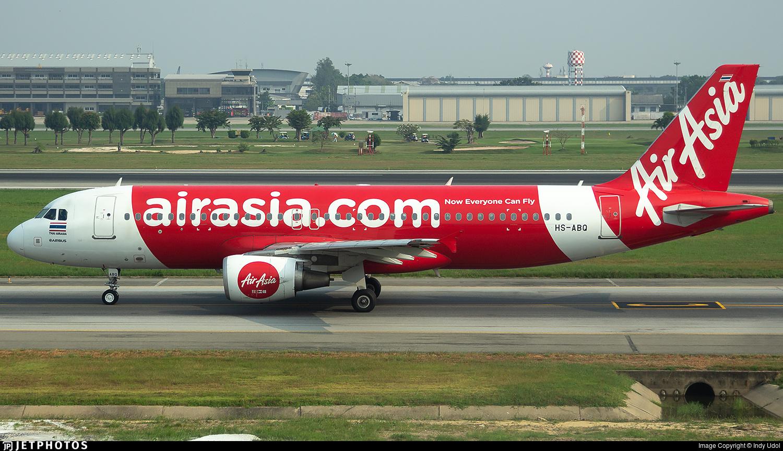 HS-ABQ - Airbus A320-216 - Thai AirAsia