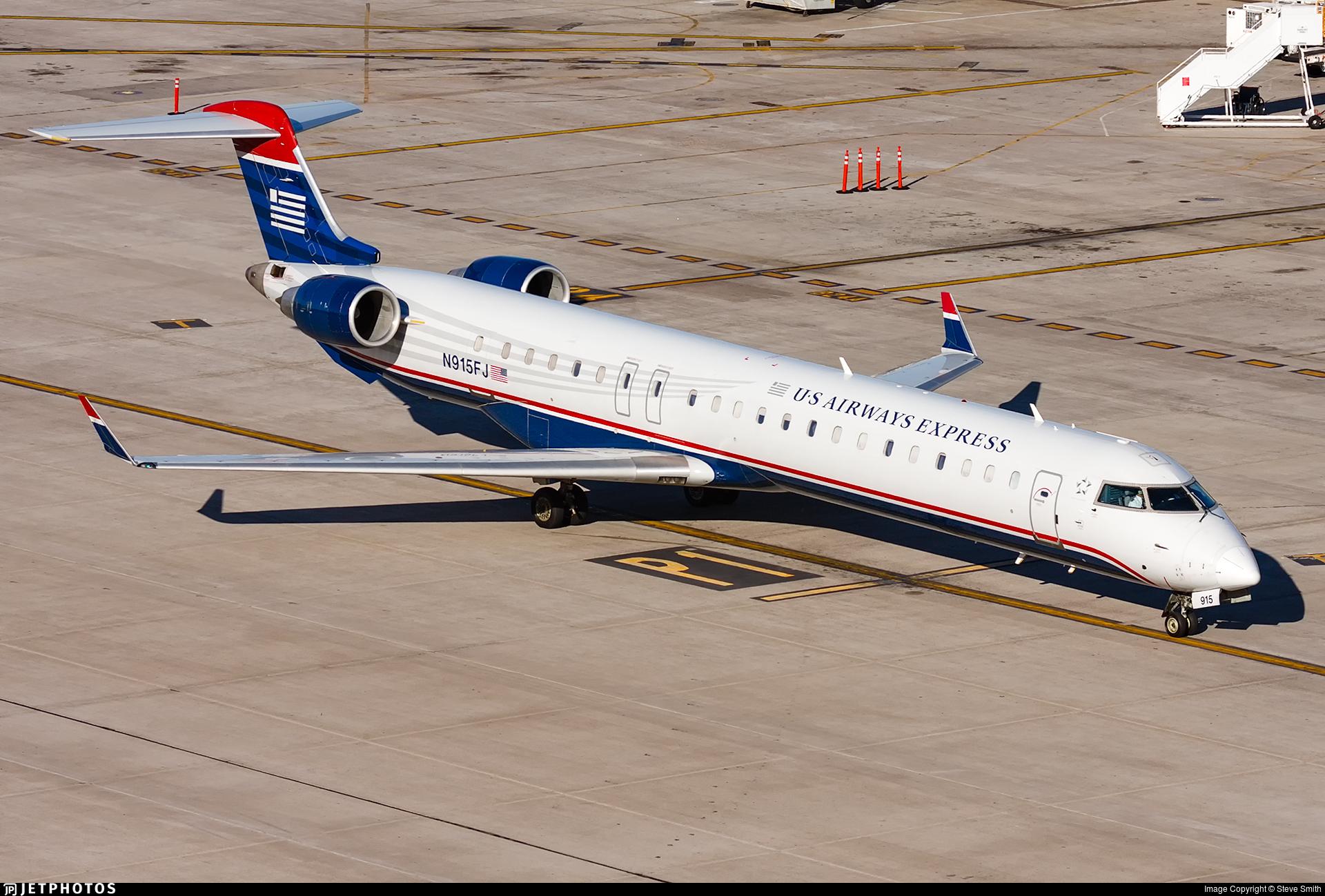 N915FJ - Bombardier CRJ-900ER - US Airways Express (Mesa Airlines)