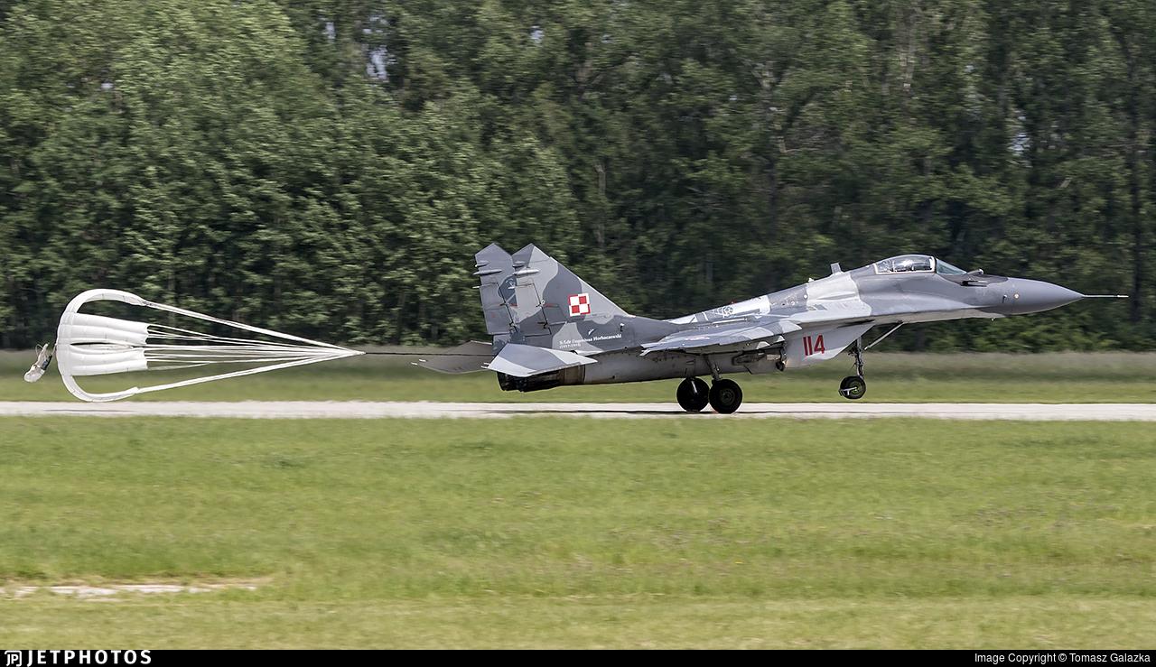 114 - Mikoyan-Gurevich MiG-29A Fulcrum A - Poland - Air Force