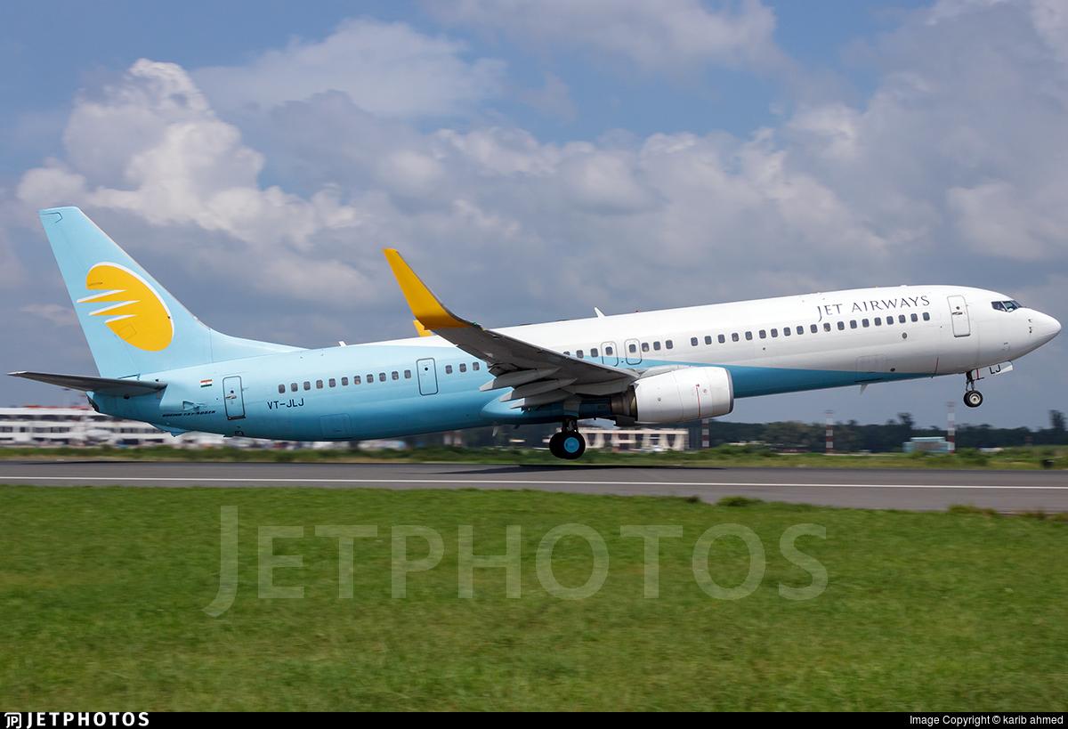 VT-JLJ - Boeing 737-96NER - Jet Airways