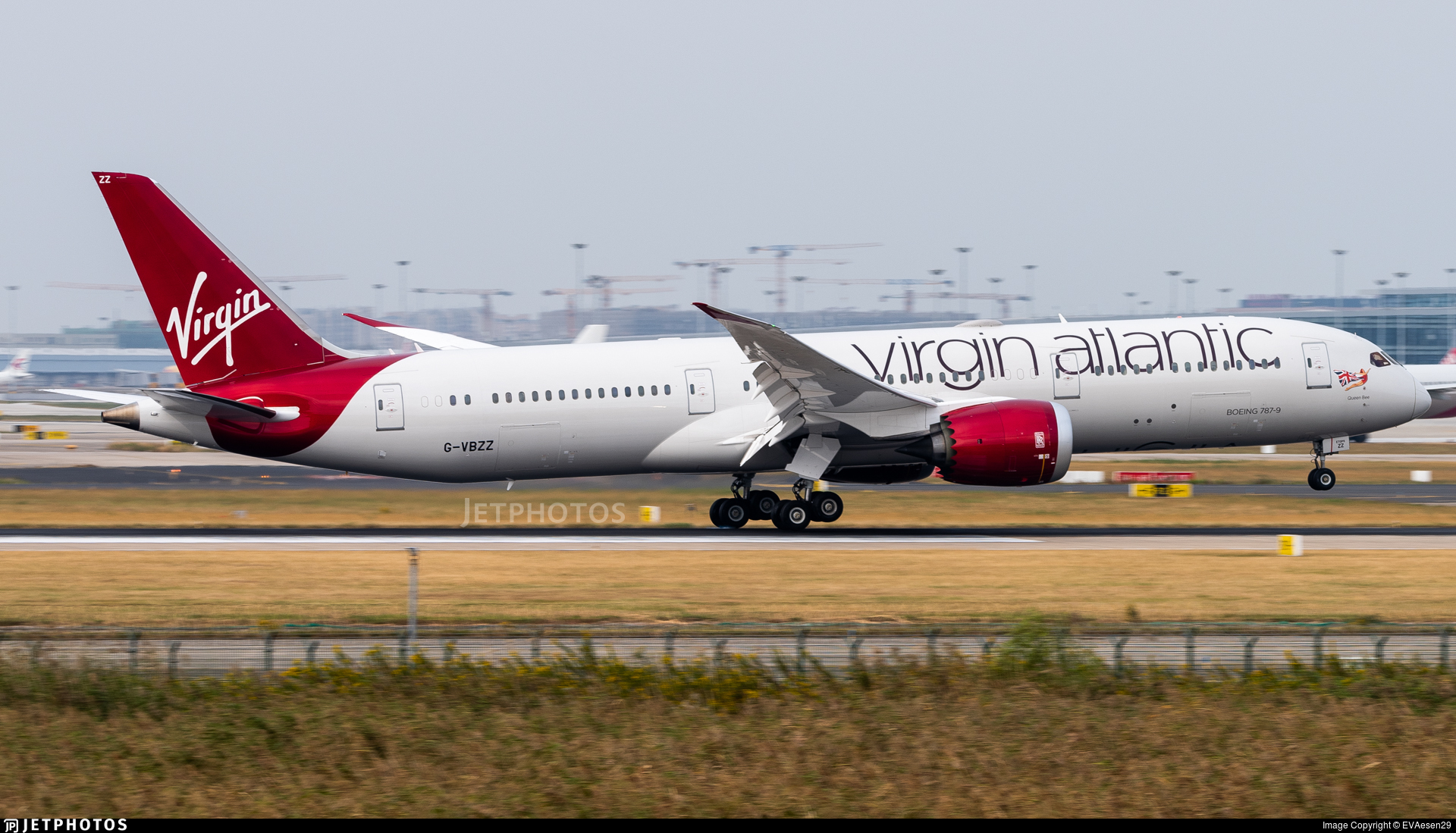 G-VBZZ - Boeing 787-9 Dreamliner - Virgin Atlantic Airways