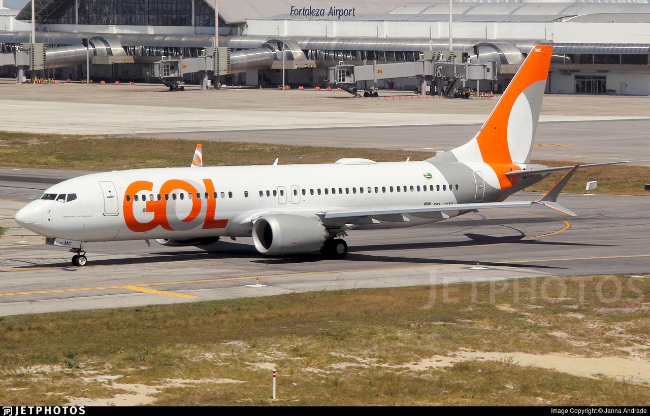PR-XMC - Boeing 737-8 MAX - GOL Linhas Aereas