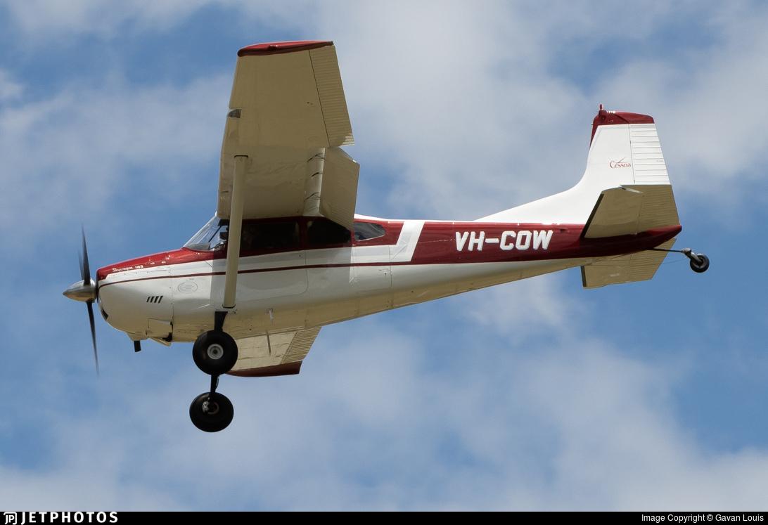 VH-COW - Cessna 185A Skywagon - Private