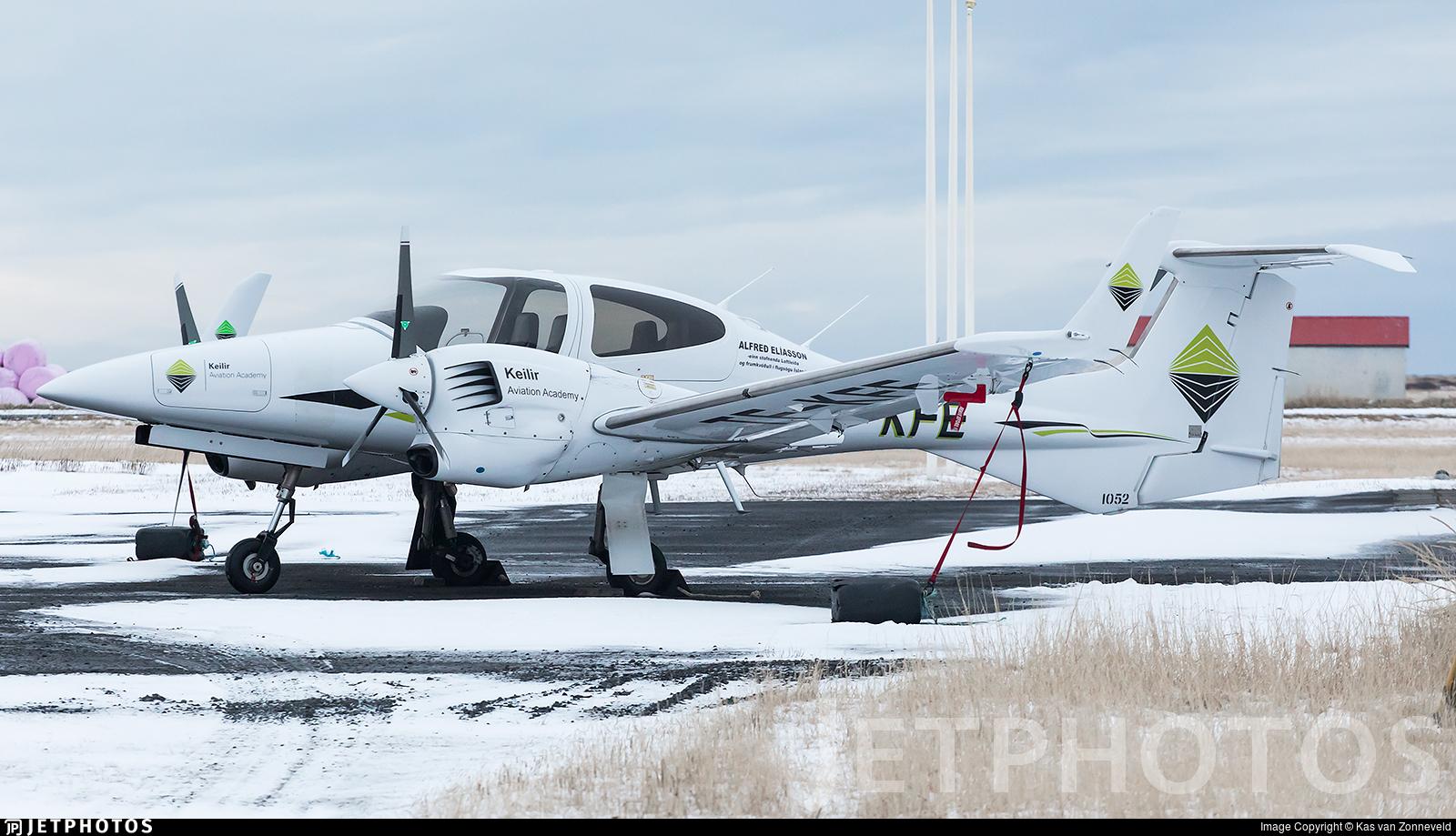 TF-KFE - Diamond DA-42 NG Twin Star - Keilir Aviation Academy
