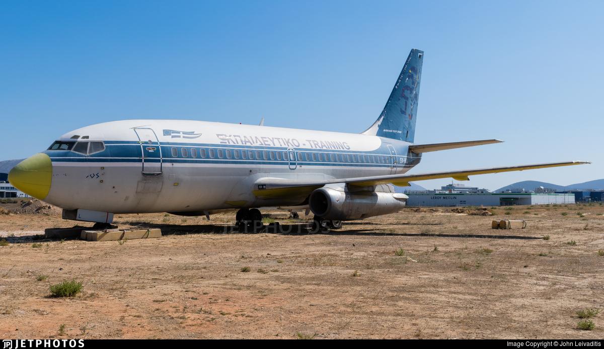 SX-BCL - Boeing 737-284(Adv) - Ekpaidetiko - Training