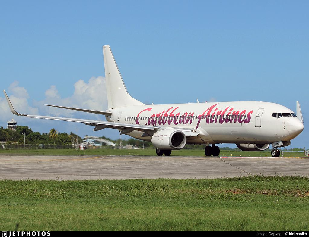 9Y-JME - Boeing 737-86J - Caribbean Airlines