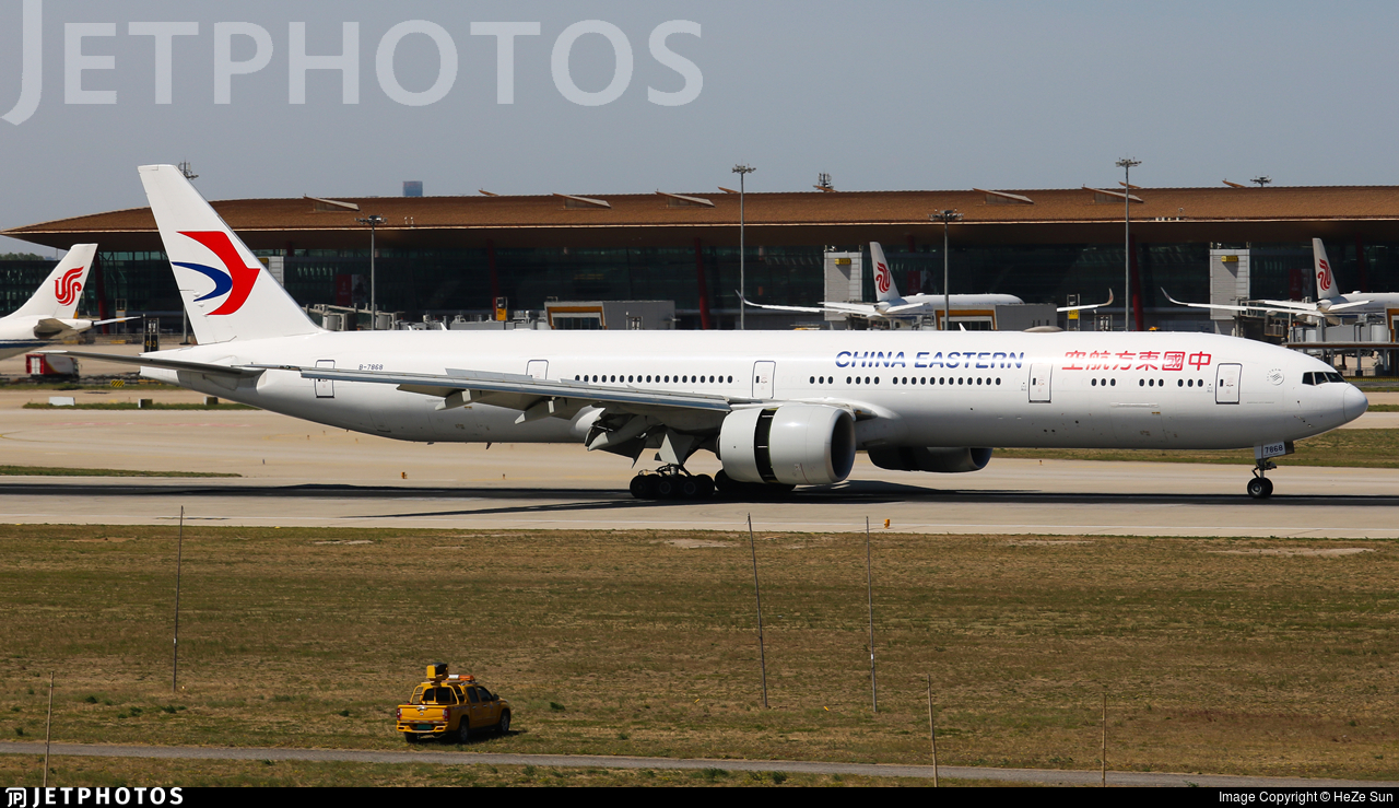 B-7868 - Boeing 777-39PER - China Eastern Airlines