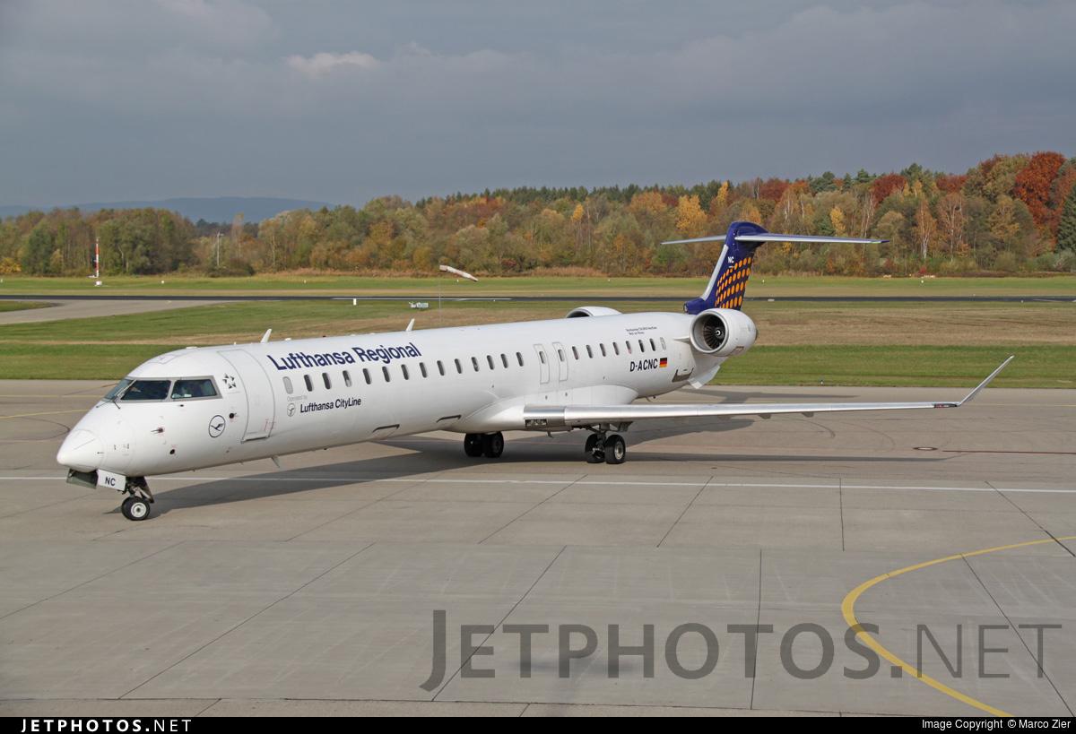 D-ACNC - Bombardier CRJ-900LR - Lufthansa Regional (CityLine)