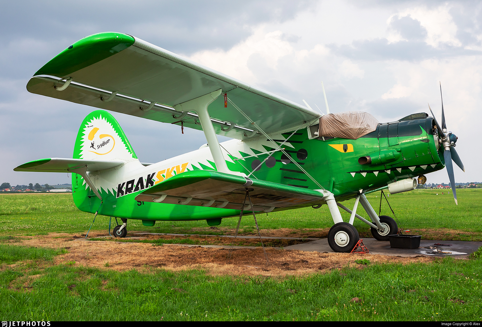 SP-AOF - PZL-Mielec An-2 - Kraksky