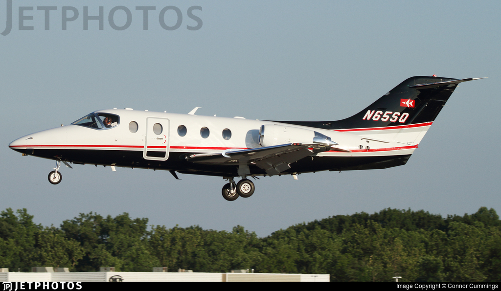 N65SQ - Beechcraft 400A Beechjet - Private