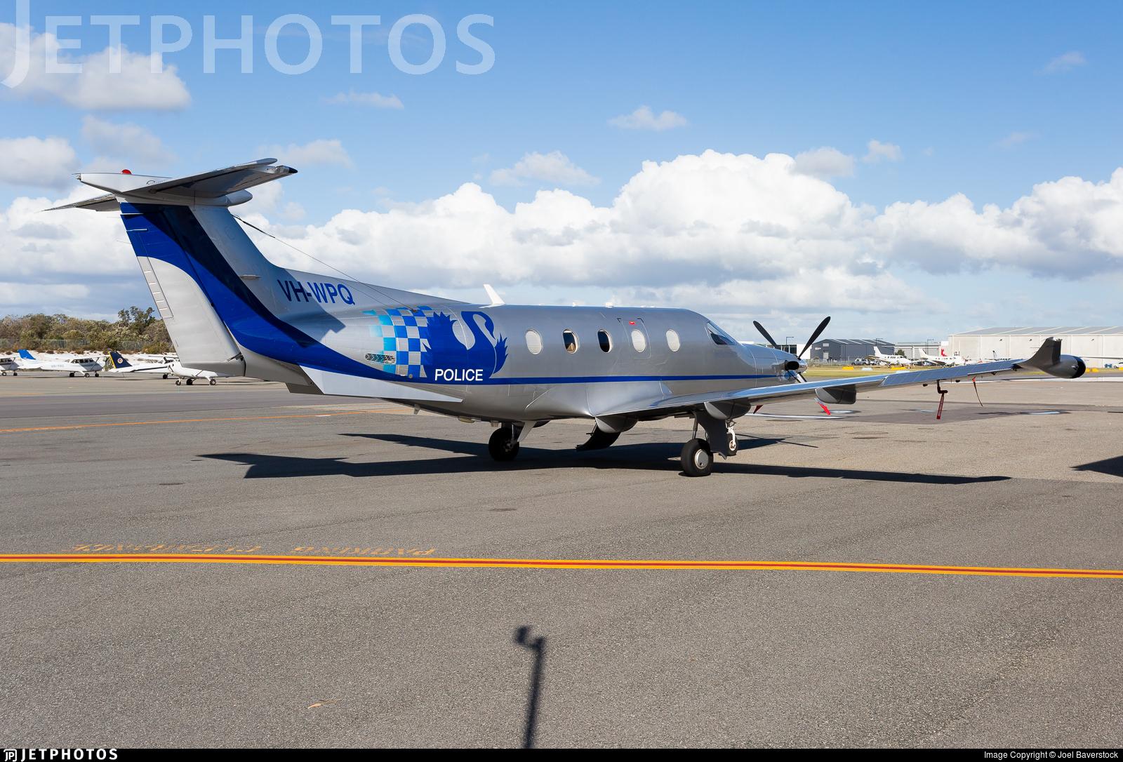 VH-WPQ - Pilatus PC-12/47E - Australia - Western Australia Police
