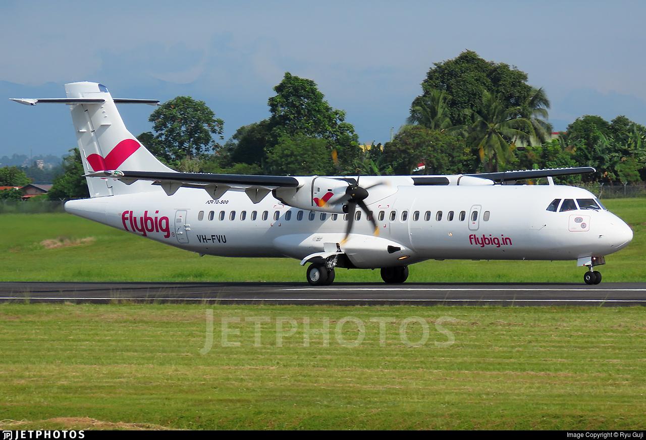 VH-FVU - ATR 72-212A(500) - FlyBig