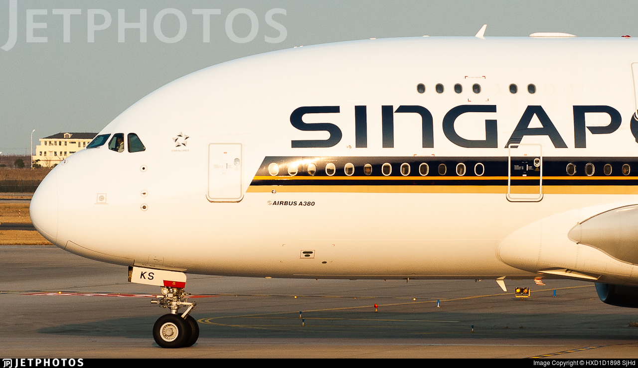 9V-SKS - Airbus A380-841 - Singapore Airlines