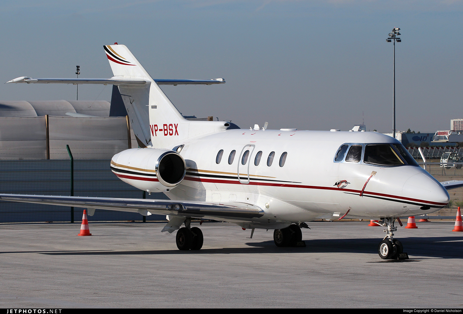 VP-BSX - Hawker Siddeley HS-125-750 - Private
