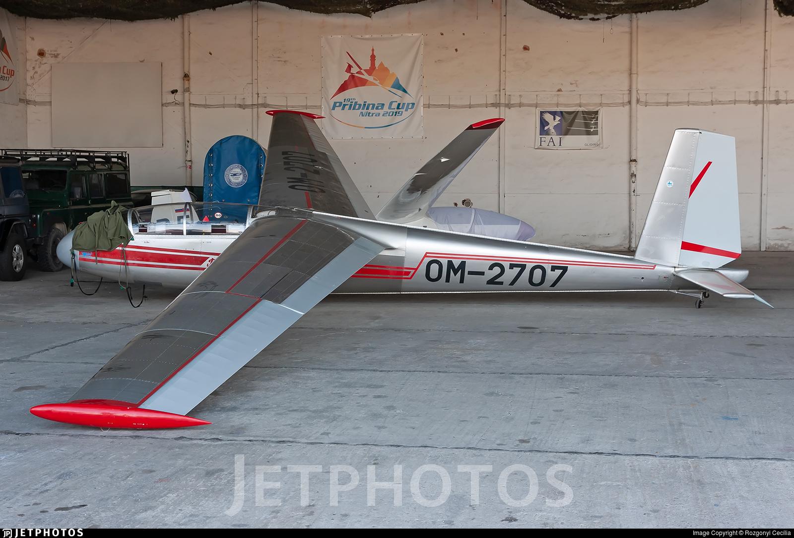 OM-2707 - Let L-13 Blanik - Aero Club - Slovak Republic