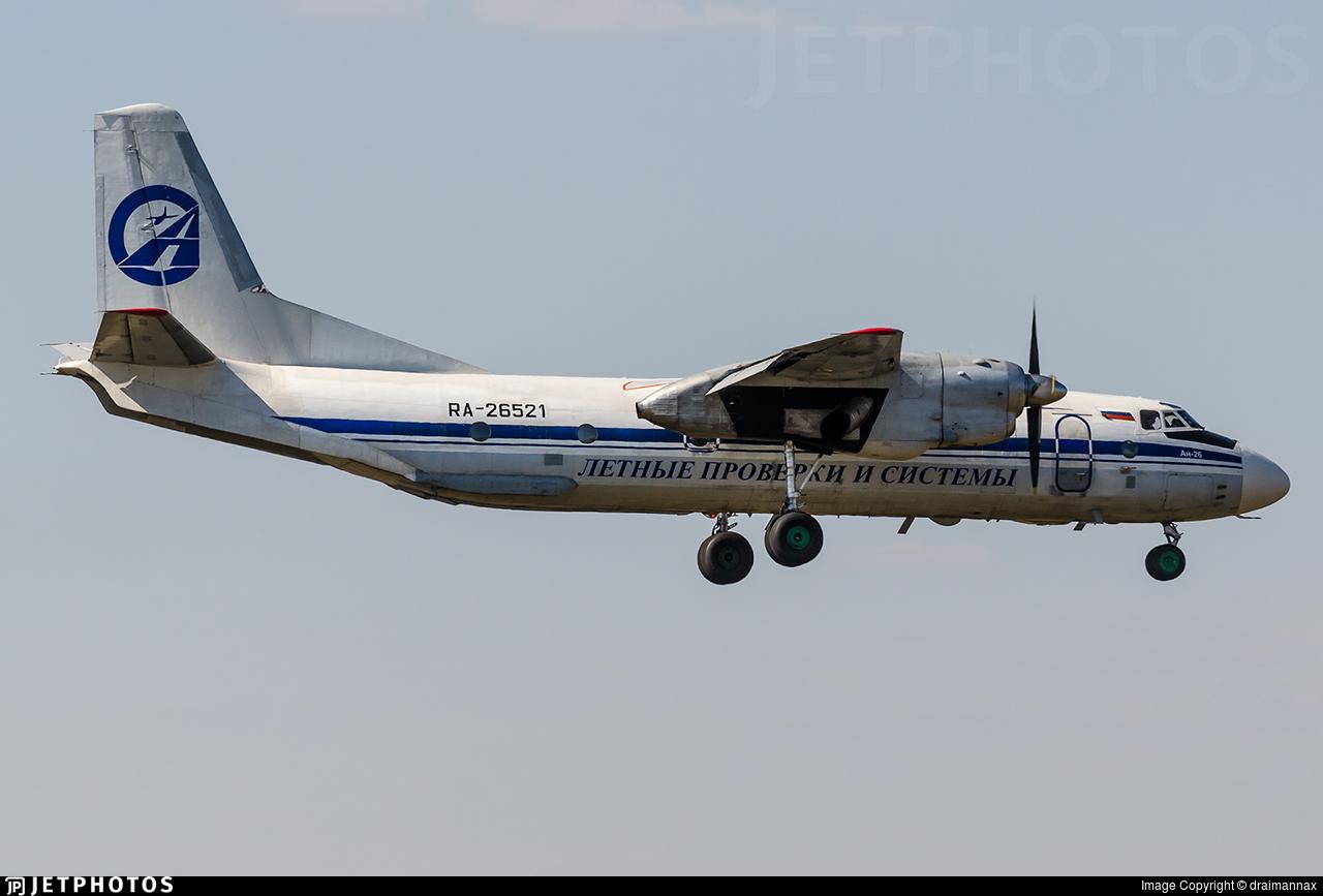 RA-26521 - Antonov An-26 - Russia - Flight Checks and Systems