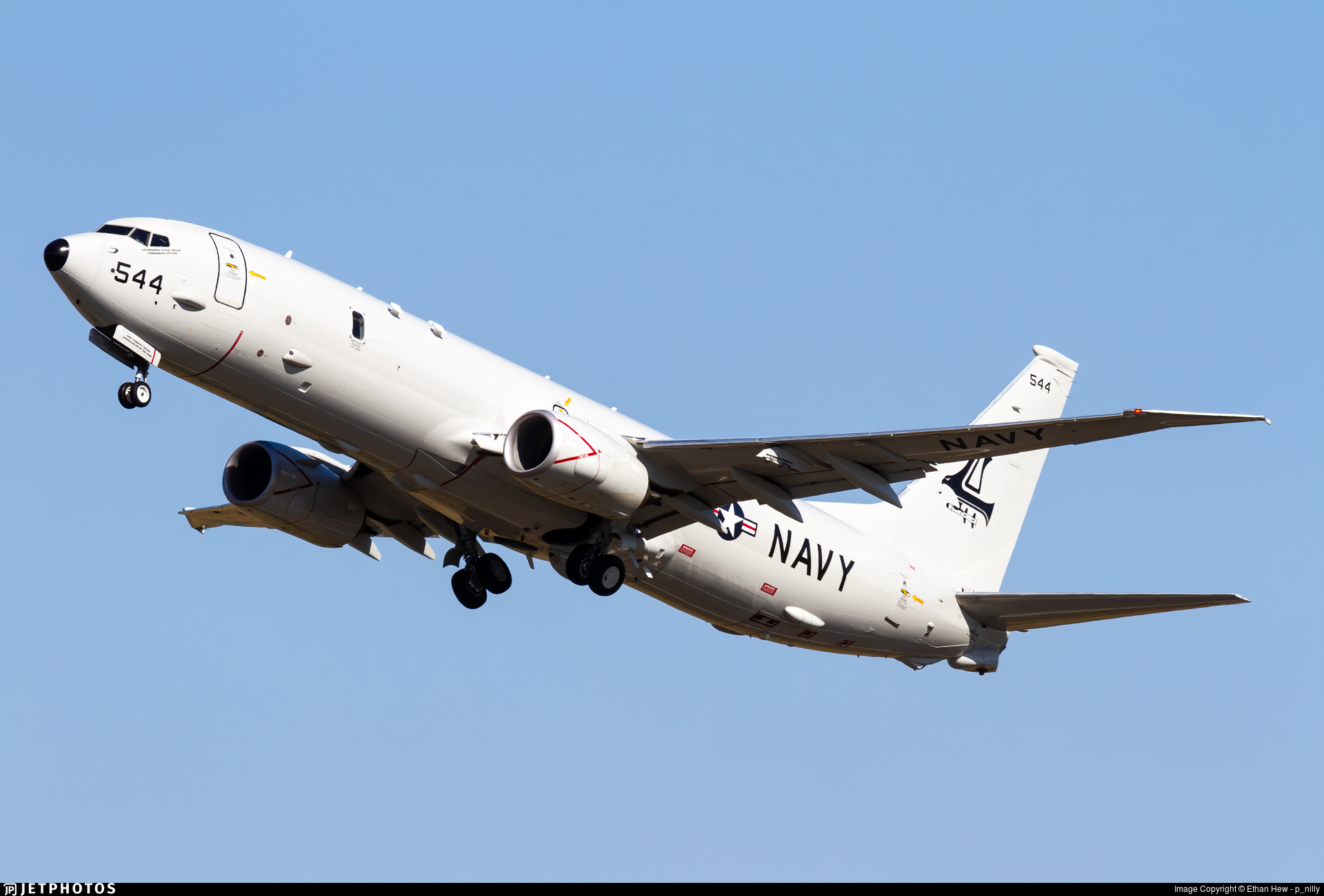 169544 - Boeing P-8A Poseidon - United States - US Navy (USN)