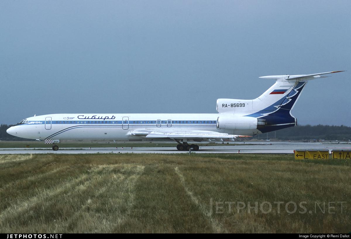RA-85699 - Tupolev Tu-154M - Siberia Airlines