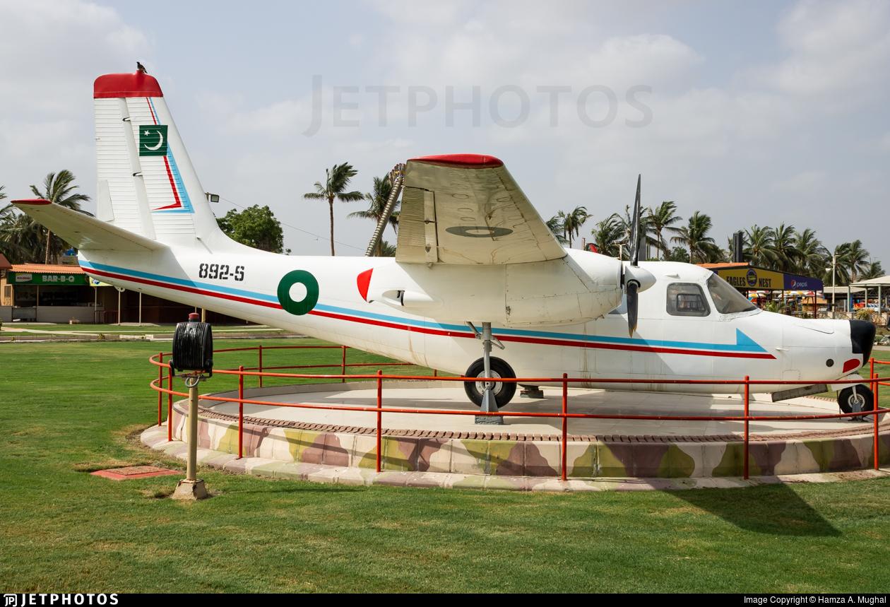 892-S - Aero Commander 680E - Pakistan - Air Force