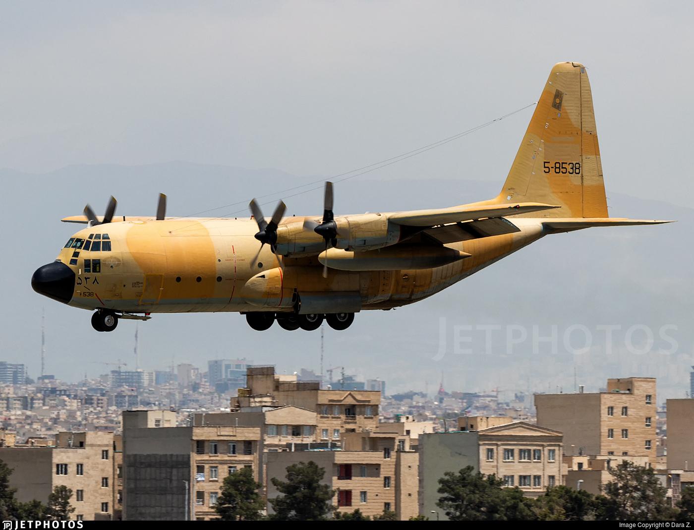 5-8538 - Lockheed C-130H Hercules - Iran - Air Force