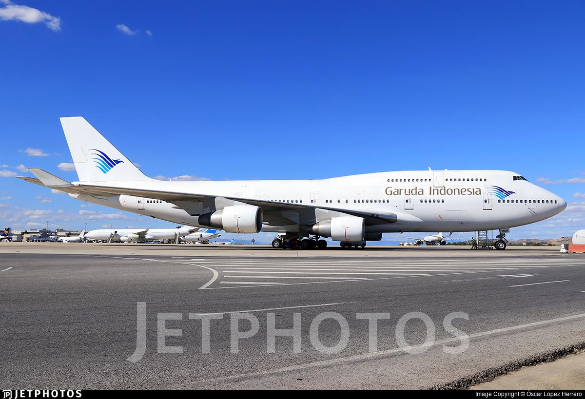 EC-MQK - Boeing 747-4H6 - Garuda Indonesia (Wamos Air)