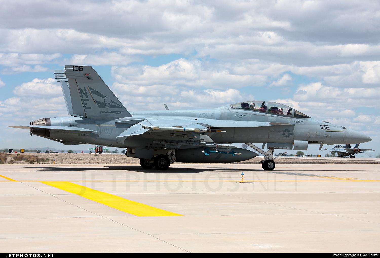 166967 - Boeing F/A-18F Super Hornet - United States - US Navy (USN)