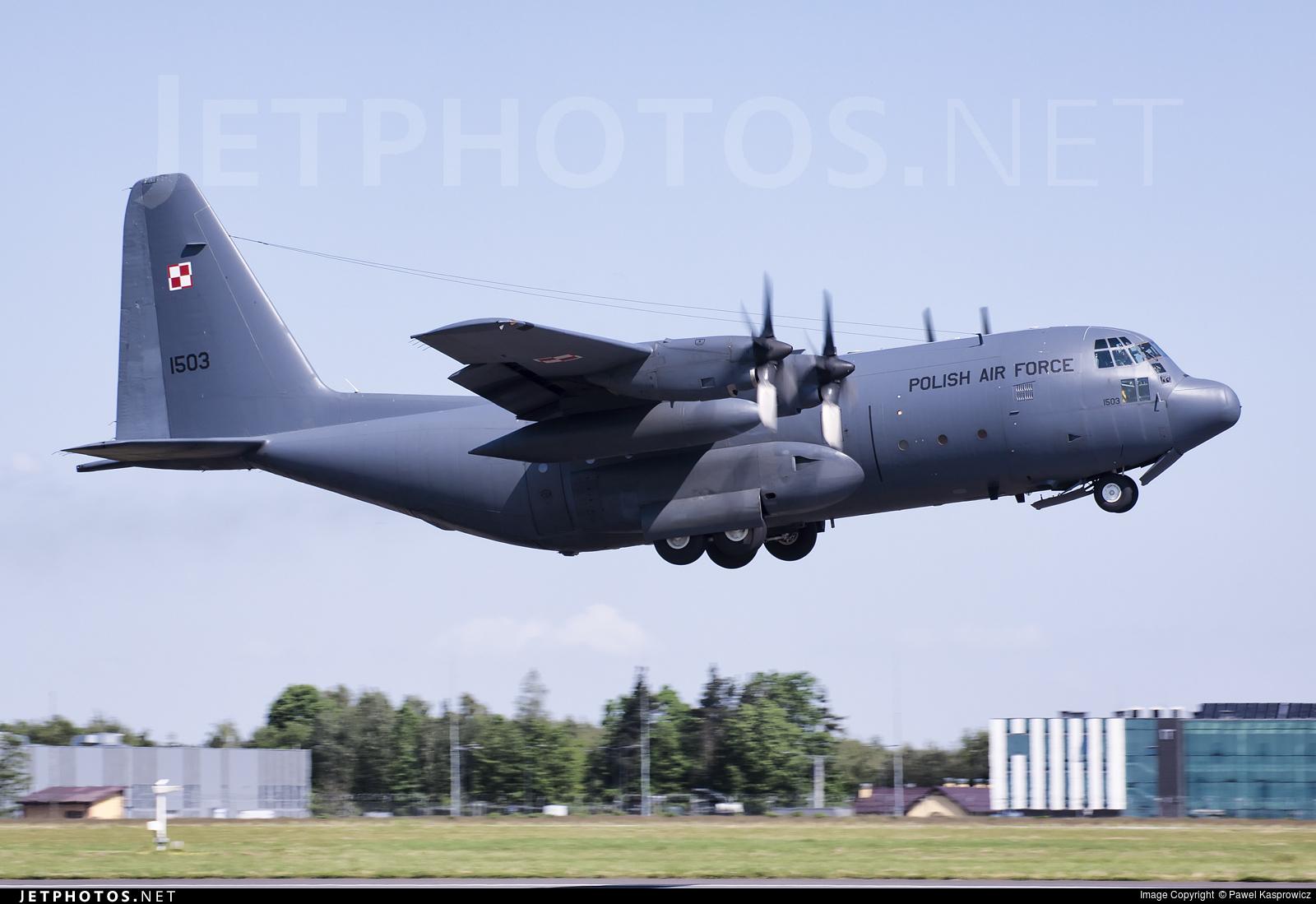 1503 - Lockheed C-130E Hercules - Poland - Air Force