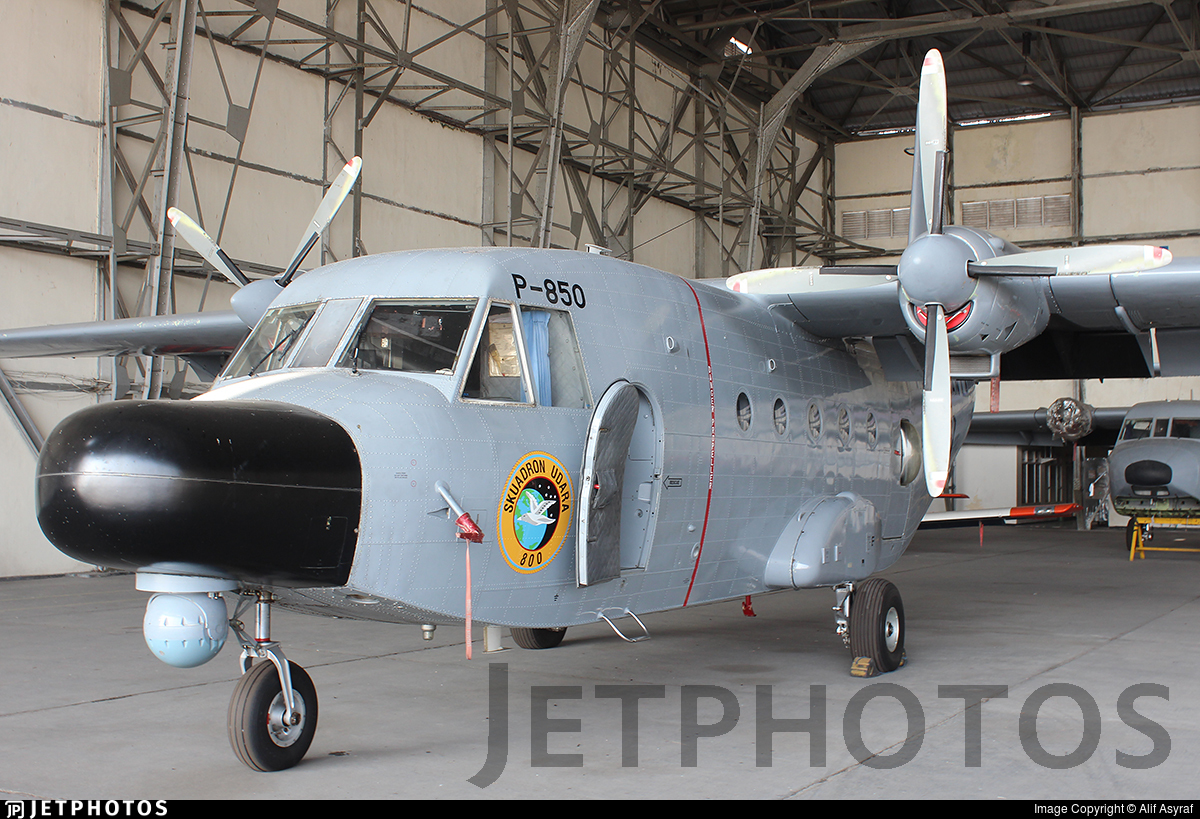 P-850 - CASA C-212-200 Aviocar - Indonesia - Naval Air Arm