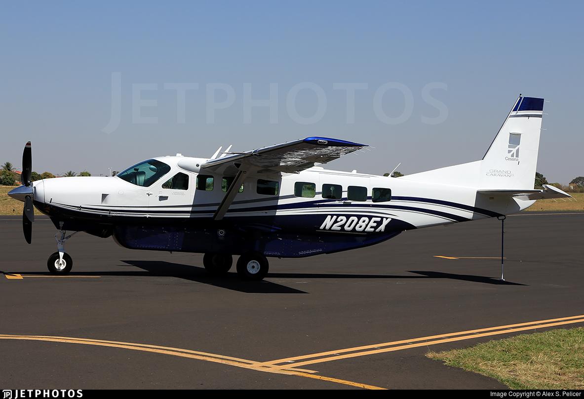 N208ex Cessna 208b Grand Caravan Ex Textron Aviation Alex Pelicer Jetphotos