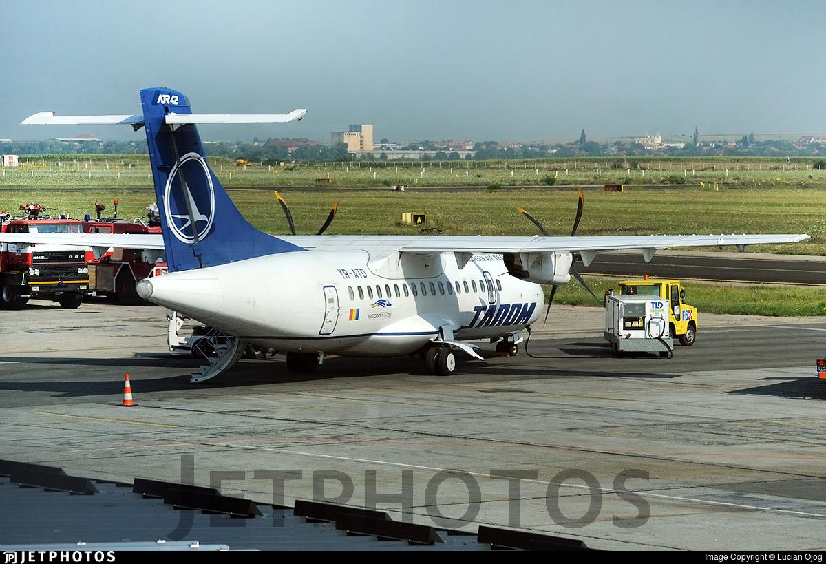 YR-ATD - ATR 42-500 - Tarom - Romanian Air Transport