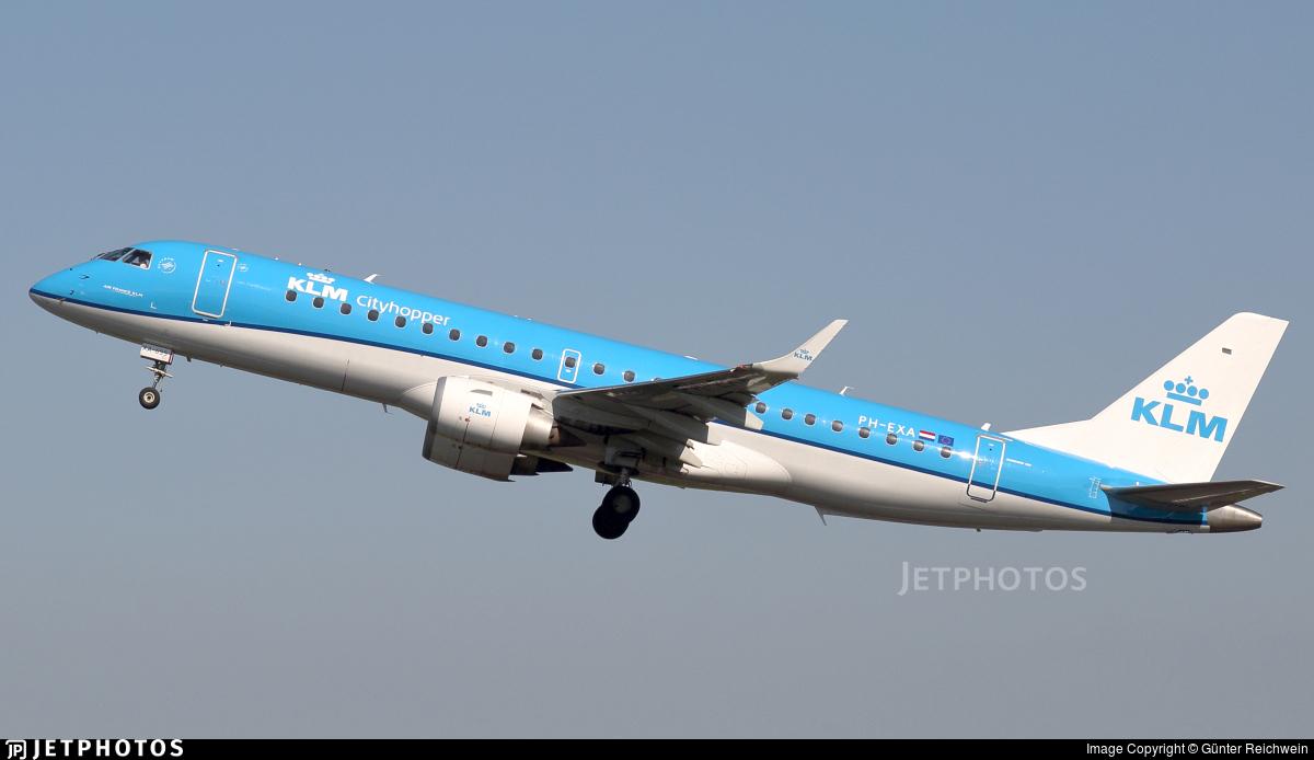 PH-EXA - Embraer 190-100STD - KLM Cityhopper