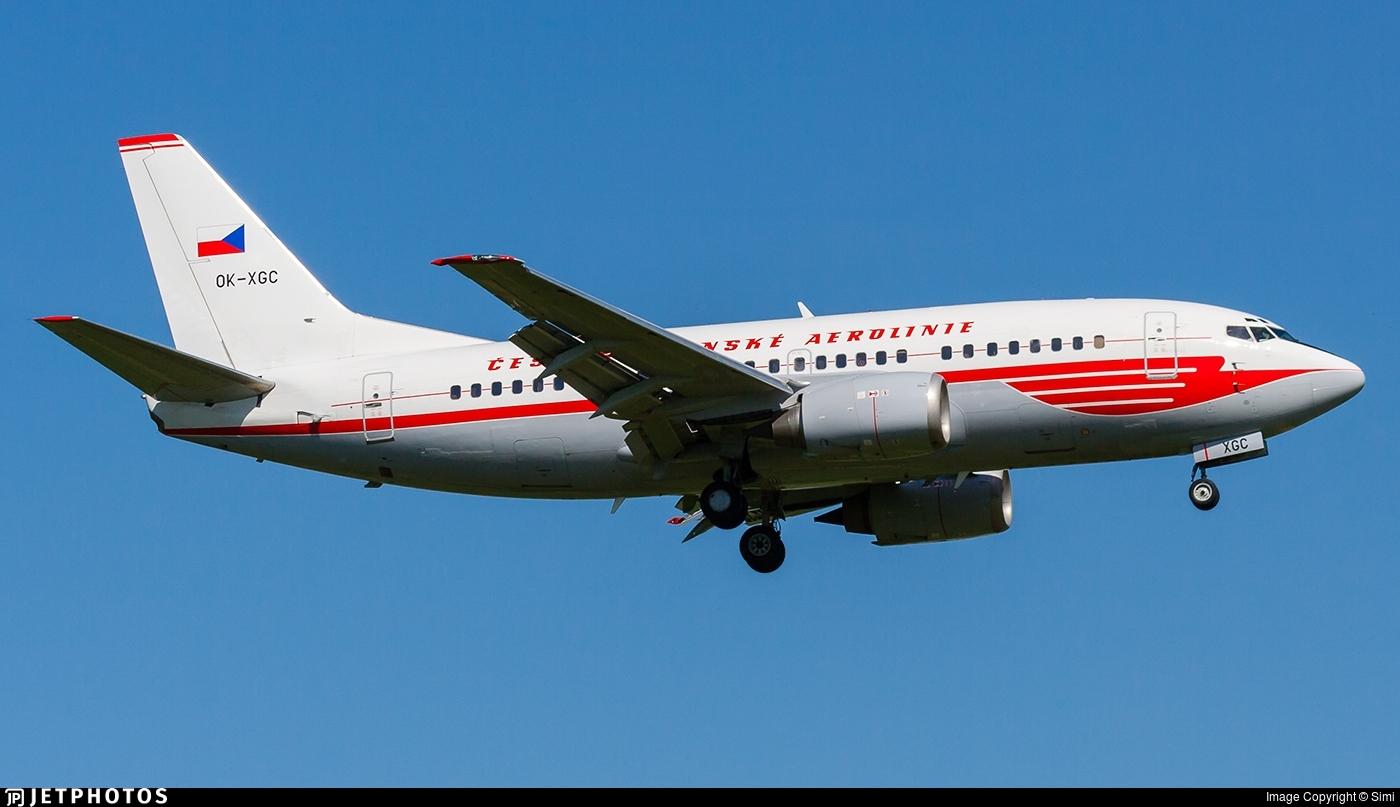 OK-XGC - Boeing 737-55S - CSA Czech Airlines