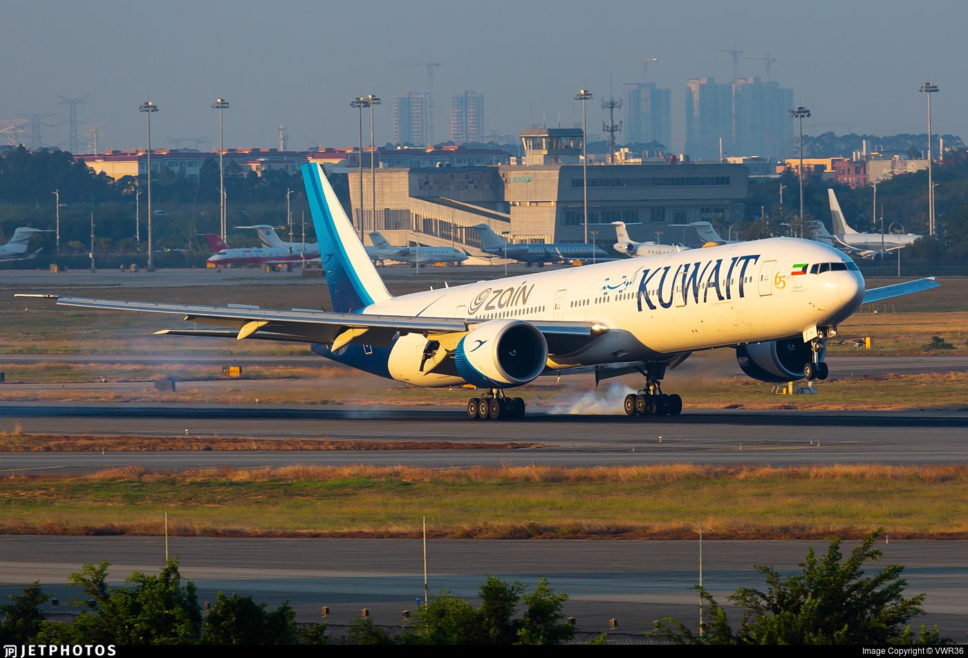9K-AOH - Boeing 777-369ER - Kuwait Airways