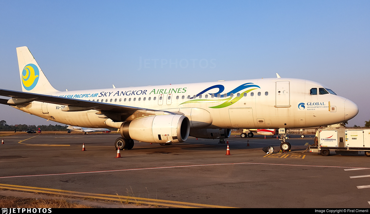 XU-718 - Airbus A320-232 - Palau Asia Pacific Airways (Sky Angkor Airlines)