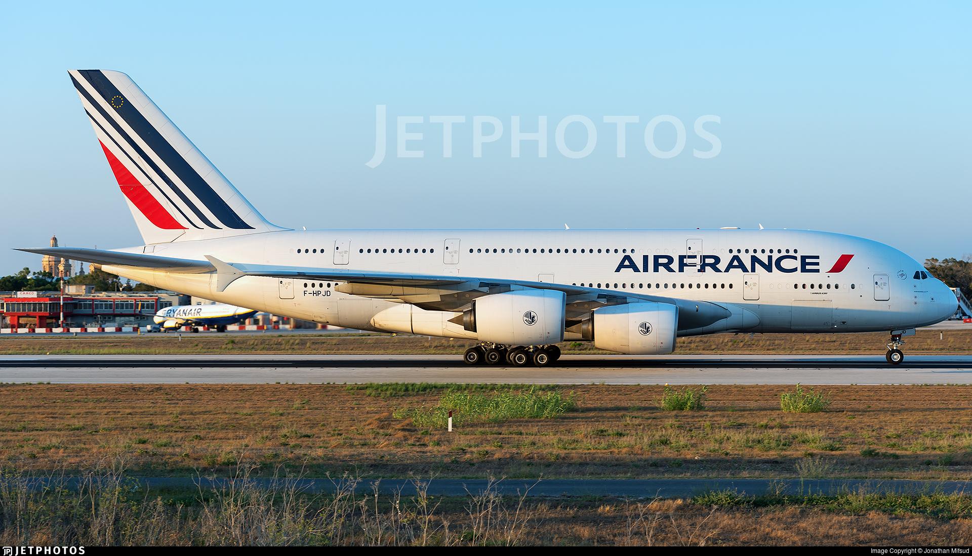 F-HPJD - Airbus A380-861 - Air France