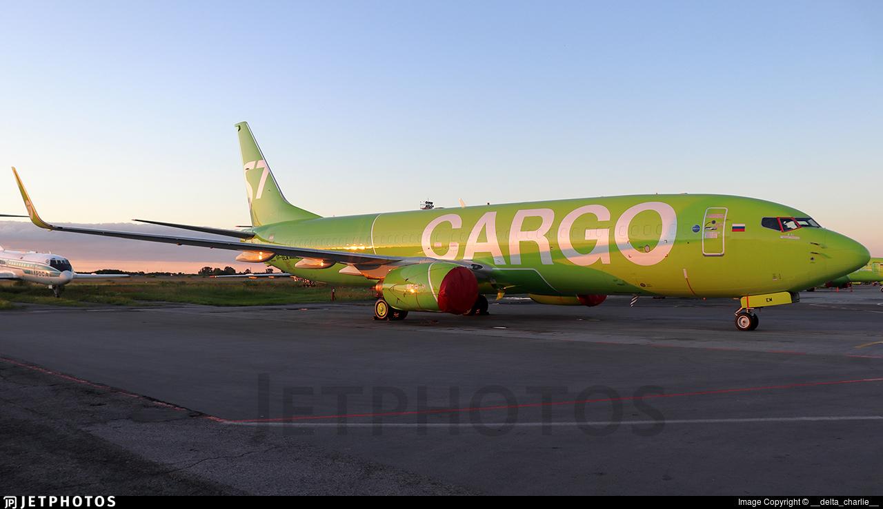 VP-BEM - Boeing 737-8AS(BCF) - S7 Airlines Cargo