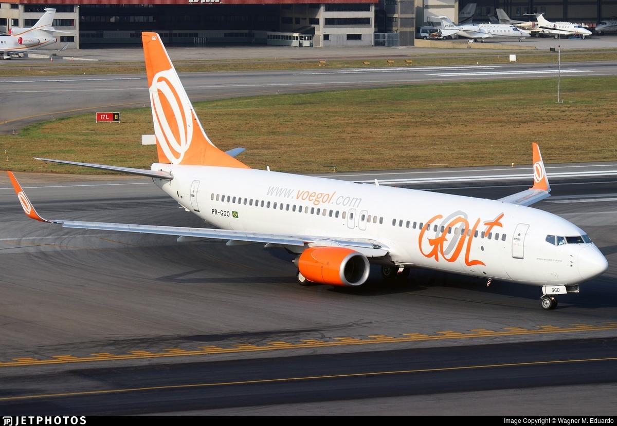 PR-GGO - Boeing 737-8EH - GOL Linhas Aéreas