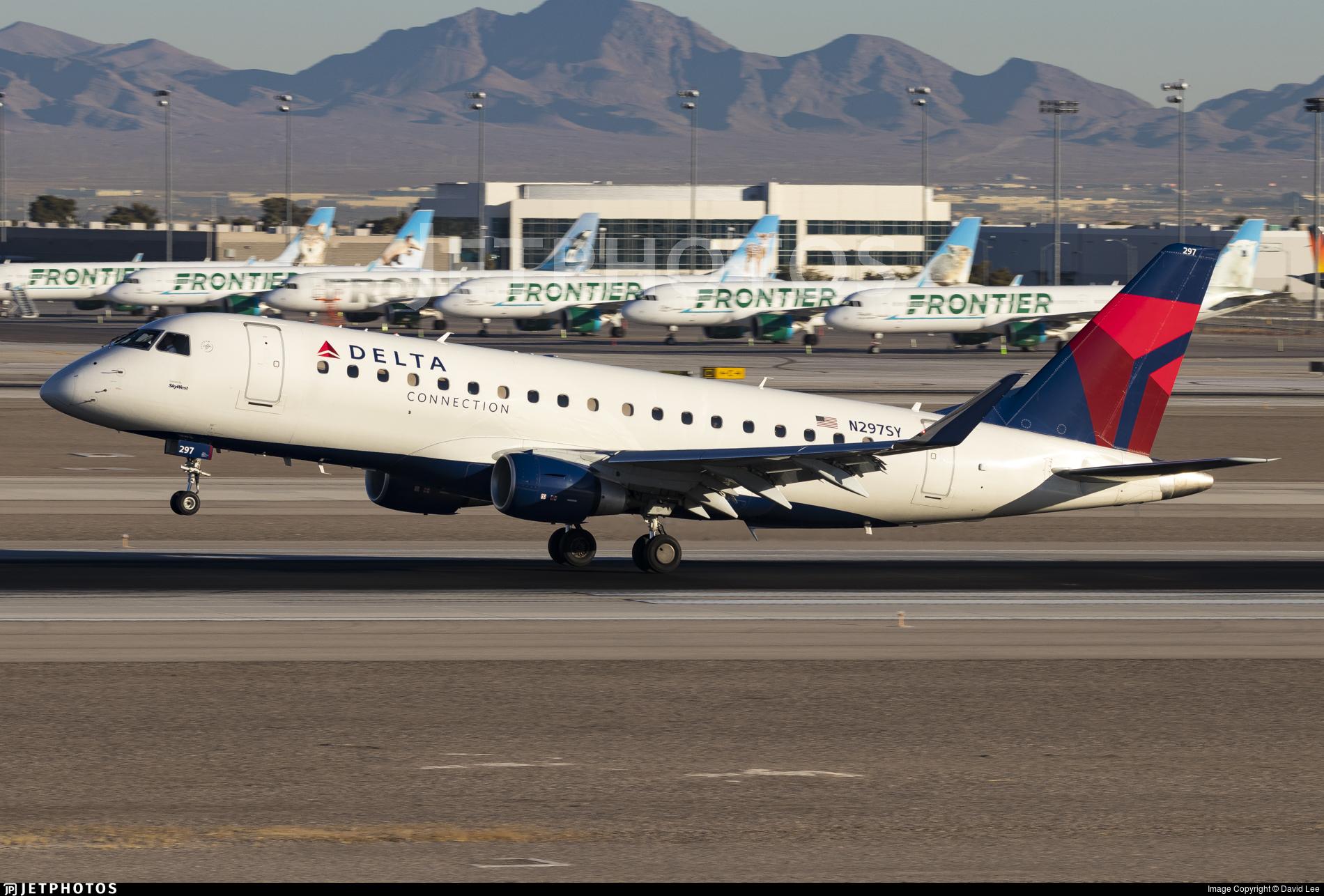N297SY - Embraer 170-200LR - Delta Connection (SkyWest Airlines)