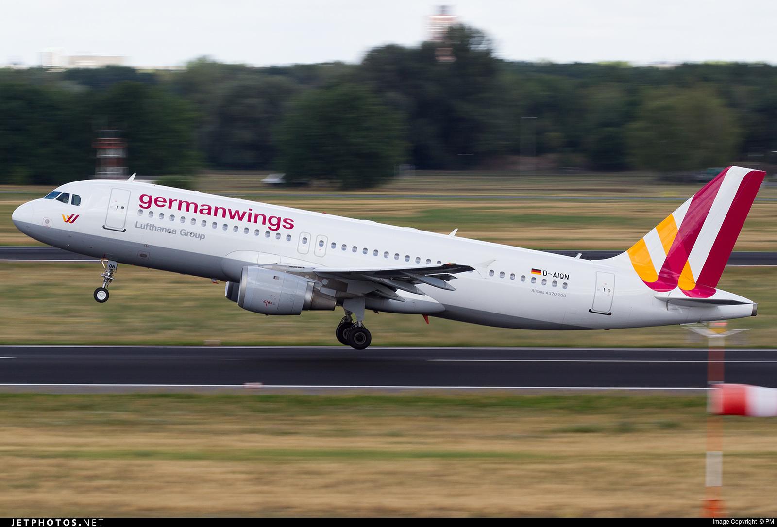 D-AIQN - Airbus A320-211 - Germanwings