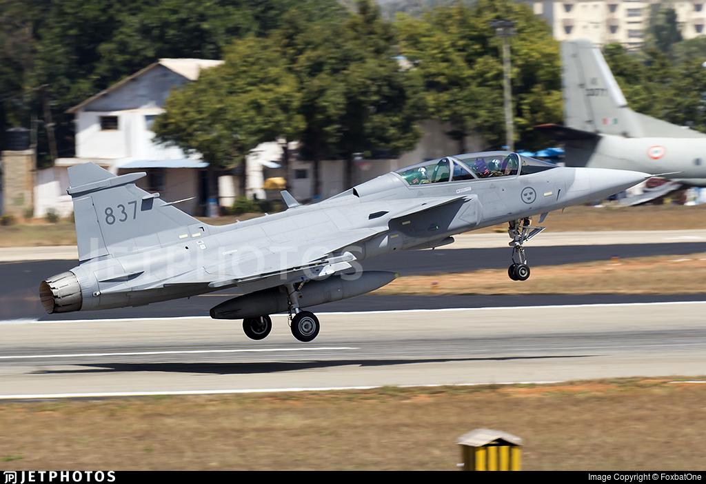 39837 - Saab JAS-39D Gripen - Sweden - Air Force